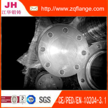 Galvanized Blind Flange (two water line on face)