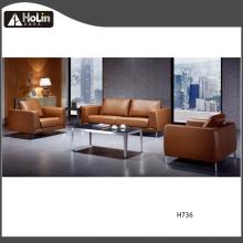 Conjunto moderno de móveis de sofá de couro PU para escritório