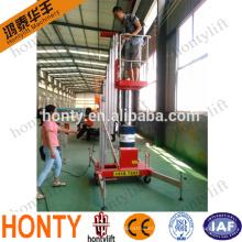 portable hydraulic vertical platform lift /vertical man lift