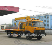 Dongfeng 153 4x2 Wrecker Truck With Crane, dongfeng crane tow truck