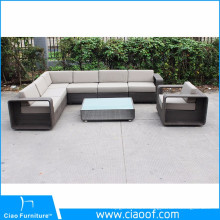 Factory Bottom Price Wicker Patio Furniture Garden Sofa