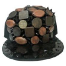 Snapback Baseball Caps с искусственной кожей SD04