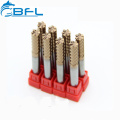 BFL Tungsten Endmill HRC55 HRC60 HRC65 CNC Bits For MDF