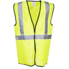 Men's High-Visibility Yellow Safety Vest