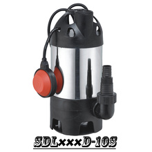 (SDL400D-10S) Stainless Steel Garden Submersible Pump with Two Outlets for Dirty Water or Clean Water