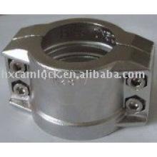 Abrazadera de seguridad de aluminio para DIN 2817