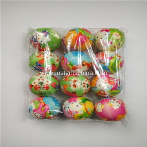 Promotional Color Printing Pu Stress Balls
