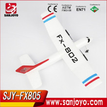 Newest toys 2.4G Foam RC Glider popular RC sailplane with remote control Model Airplane SJY-FX805
