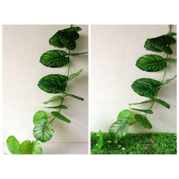 caule de folha artificial decorativo para exterior e interior