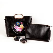 Ombro Senhora Hand Embroidery Handbag