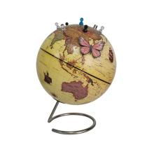 Globe terrestre magnétique de bureau avec épingles magnétiques