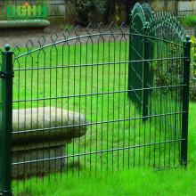 Giant Green Ornamental Fence Prestige Fence