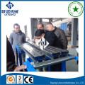 Máquina de formação de rolo de perfil de rack de armazenamento automático completo