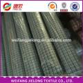 hilo de algodón poliéster teñido de varios colores tejido de la tela Nuevo diseño de hilo teñido tejido de algodón de Panamá para camisa