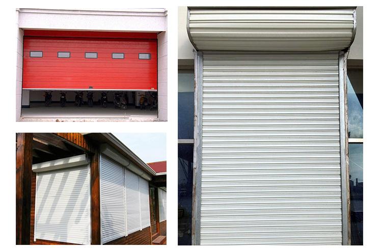 application of the shutter door slat