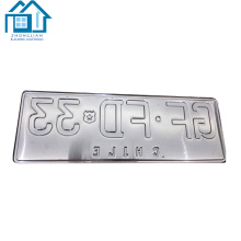 Número de venda quente molde usando na máquina da imprensa Manual