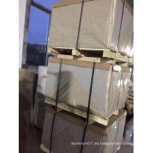 Placa de aluminio de 25 mm de espesor 6061