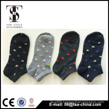 Spring wear heart jacquard beaty cotton socks