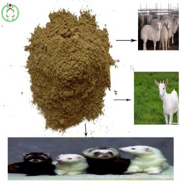 Farinha de farinha de peixe em pó vitamina ração animal