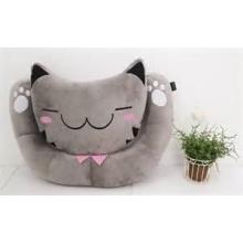 ICTI Audited Factory lindo gato almohada juguete de peluche