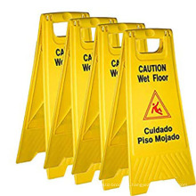 floor sign-caution slippery when wet