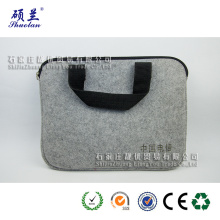 Good quality 100% polyester felt laptop bag