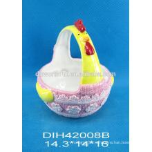 Керамическая корзина для керамической посуды