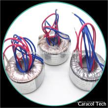 Mini trafo toroidal al por mayor 12V del fabricante electrónico de los transformadores