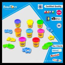 Новый продукт мягкая игрушка для детей цвет глины набор глины ремесло игрушка решений