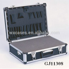 strong and portable aluminum toolbox with Removable Diced Foam inside
