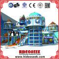 Frozen Snow Theme Naughty Castle Kids Indoor Playground Equipment