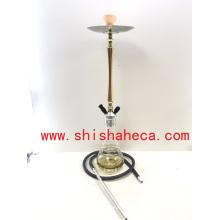 Top Qualité En Gros Narguilé En Aluminium Pipe Shisha Narguilé