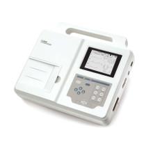 Três leva canal ECG máquina eletrocardiógrafo ECG Holter papel grande ecrã certificado do Ce (SC-CM300)