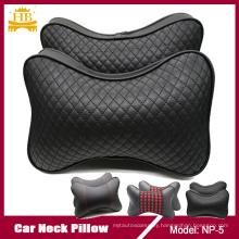 Car Accessories Lambskin Black Grey Beige Brown Neck Pillow