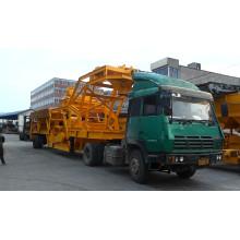 Planta mezcladora de concreto móvil de 35m3 (YHZS35)