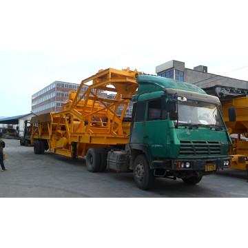 Planta móvel de betão de concreto 35m3 (YHZS35)