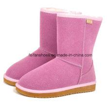 OEM de haute qualité chaud et confortable hiver chaussures bottes de neige pour les femmes (ff93-1)
