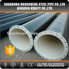 Kohlenstoffgeschweißtes Stahlrohr mit Flansch