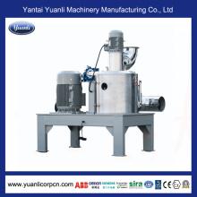 Sistema de molienda vertical para recubrimiento en polvo