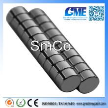 "D1 / 4 ""X1 / 8"" Disco SmCo Samarium Cobalt Imán"