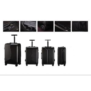 Carbon fiber suitcase with USB interface