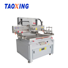 CE Semi-auto Flat Ruler Silk Screen Printing Machine