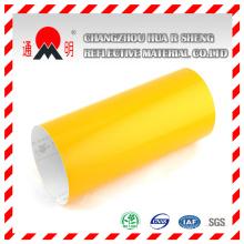 Amarillo ingeniería grado Material reflexivo para el tráfico rodado señales señales de advertencia (TM7600)