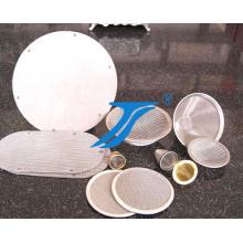 Ampliamente utilizado de malla de elementos de disco de filtro de acero inoxidable de malla