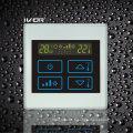 Interrupteur tactile thermostatique à 4 tubulures dans un cadre en plastique (SK-AC2300T-4P-N)