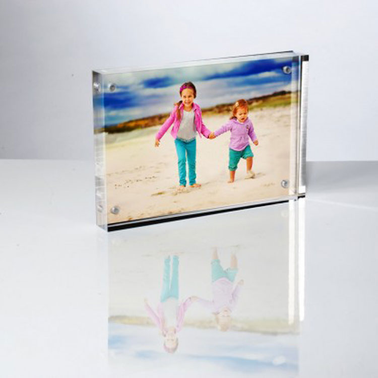 Clear Acrylic Photo Frames Magnetic