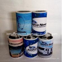 À la mode, néoprène isolé à base de pot refroidisseur, bouteille de néoprène et refroidisseur de boîte