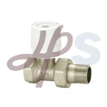 brass radiator valve plated nickel