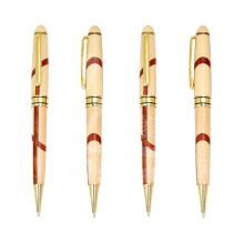 Customized Logo Wood Pen Advertsiing Wood Ball Pen