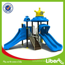 Outdoor-Spiel-System, Kinder-Kunststoff-Dschungel-Gym im Kosmos-Thema mit CE-Zertifikat LE.SY.006 MADE IN CHINA